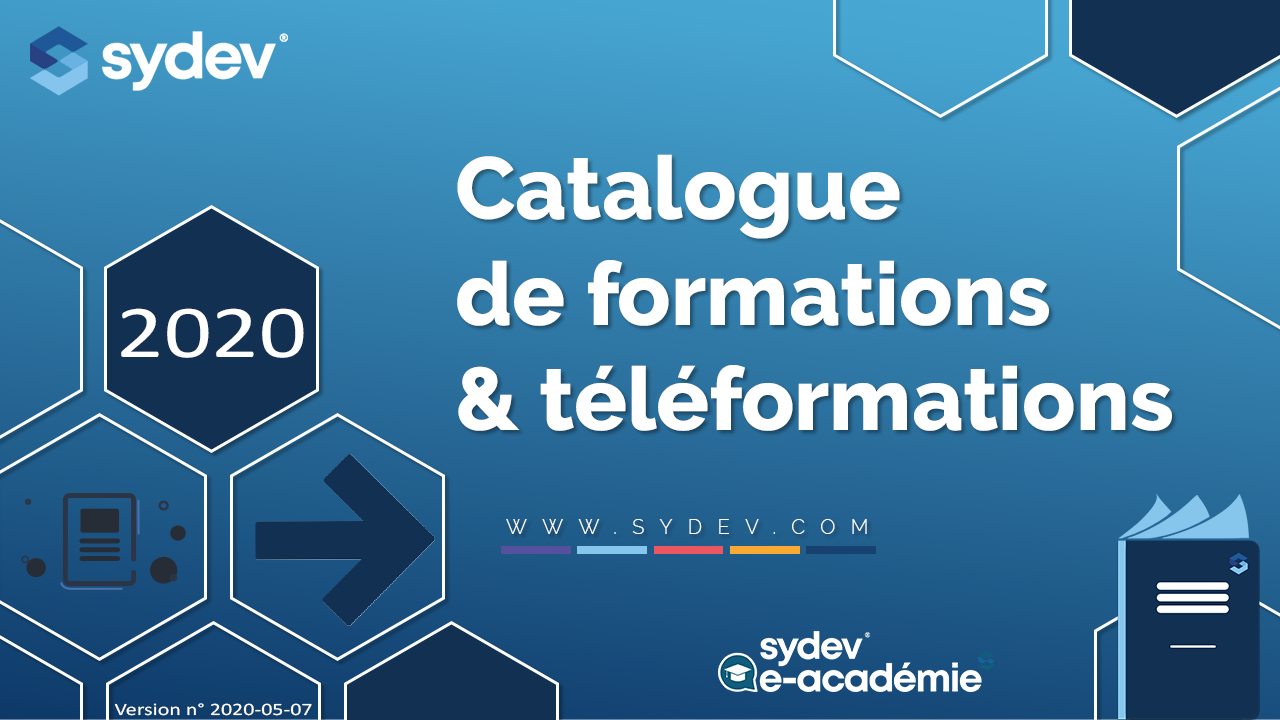 Catalogue de formations et téléformations Sydev